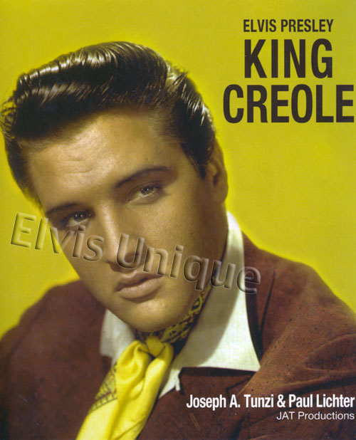 Elvis Presley's Greatest Film Performance King Creole Paul Lichter Deluxe Book Image
