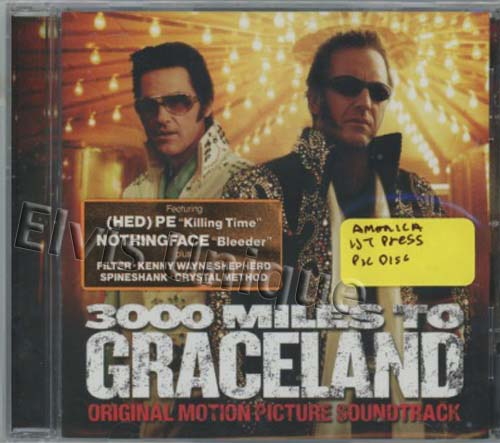 3,000 Miles To Graceland Motion Picture Soundtrack CD Image