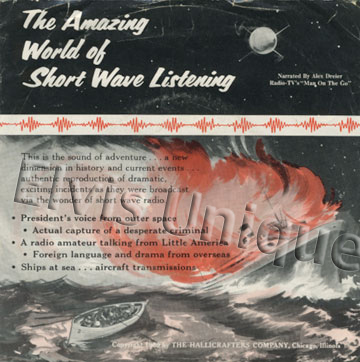 The Amazing World Of Short Wave Listening Radio Station EP (small print version) Image