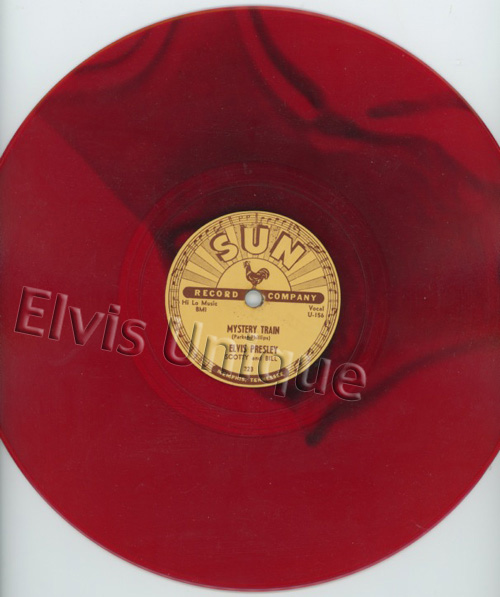 Mystery Train Sun 78 Blood Red Marble Vinyl Image
