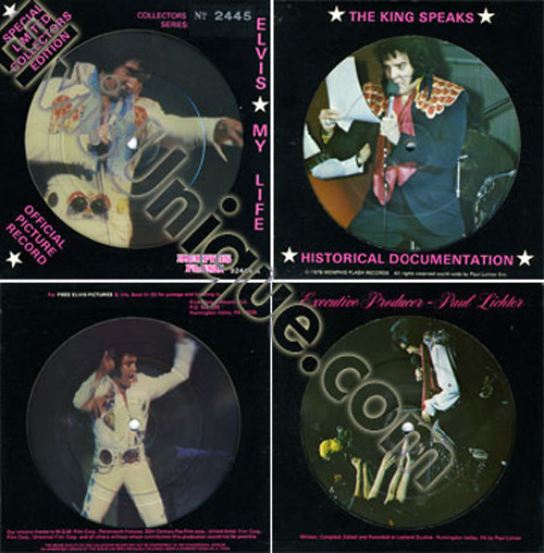 Elvis My Life Double Picture Disc EP Image