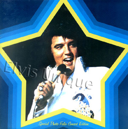 Elvis 1975 Tour Photo Album Image