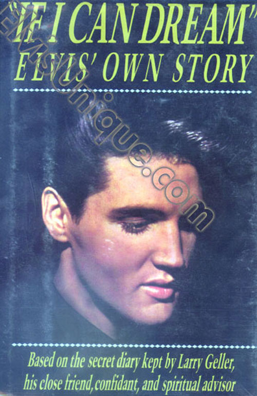 If I Can Dream - Elvis' Own Story Book Club Edition Image