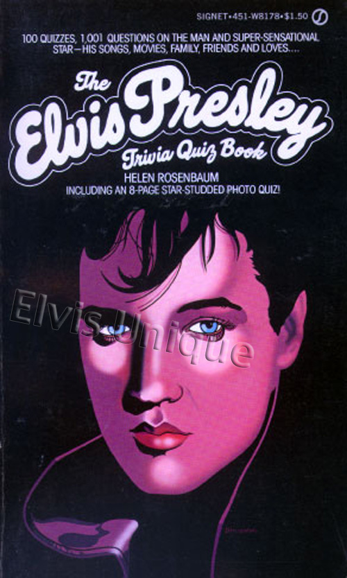 The Elvis Trivia Book Image