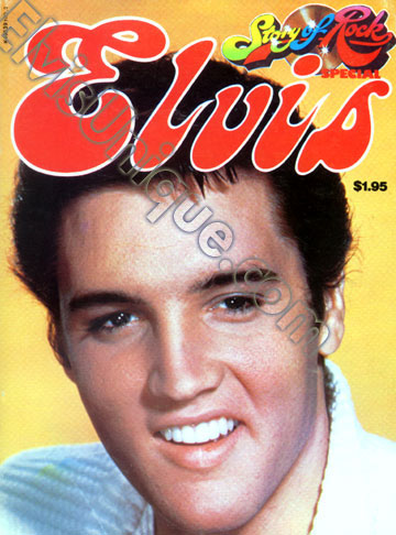 Elvis The Story Of Rock Image
