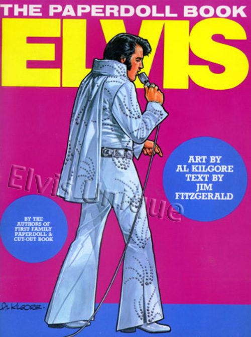 Elvis The Paper Doll Book Image