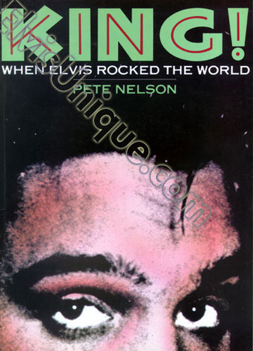 King When Elvis Rocked The World Image