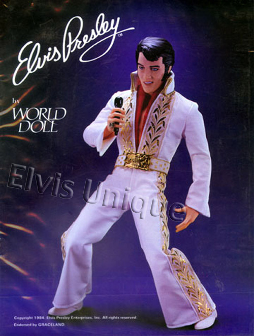 Elvis Presley By World Doll Image