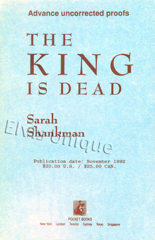 The King Is Dead Image