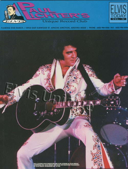 Elvis Today Vol. 4 Price Guide Book Image