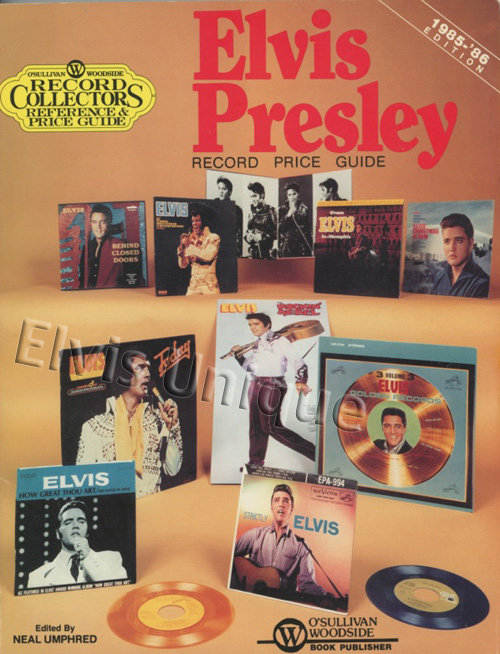 Elvis Presley 1985 Record Price Guide Book Image