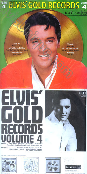 Elvis' Gold Records Vol. 4 Image