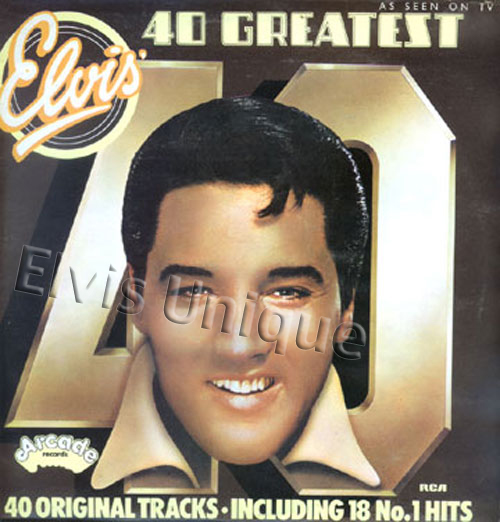 Elvis' 40 Greatest As Seen On TV Image