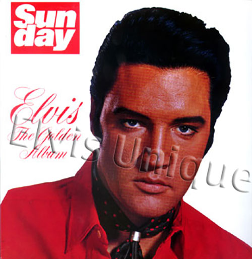 Elvis The Golden Album Image