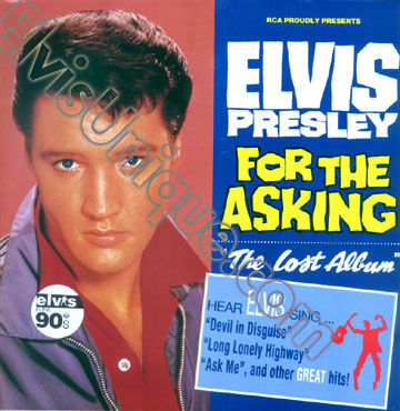 Elvis For The Asking The Lost Album Image