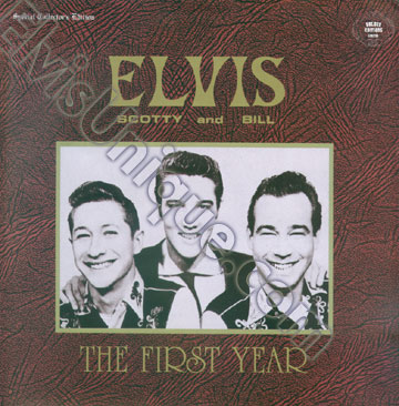 Elvis, Scotty & Bill Live From Eagle's Hall March 1955 Image