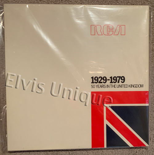 RCA 1929-1979 50 Years In The United Kingdom Image