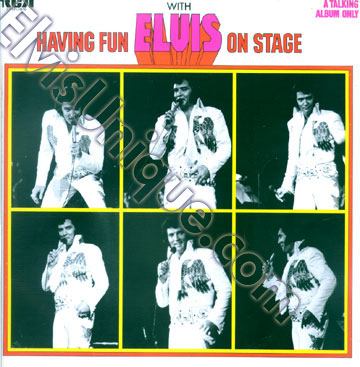 Having Fun With Elvis On Stage Image
