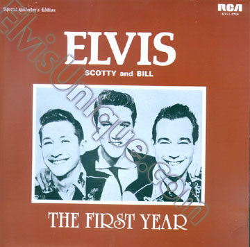 Elvis, Scotty & Bill The First Year Image