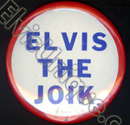 Button Elvis The Joik © 1956 Image
