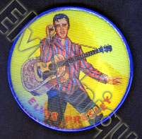 Button Elvis Presley Color Flasher Button © 1956 Image