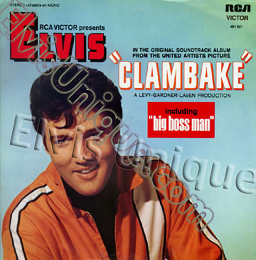 Clambake Mint French LP Image