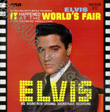 Elvis Presley World's Fair French LP Image