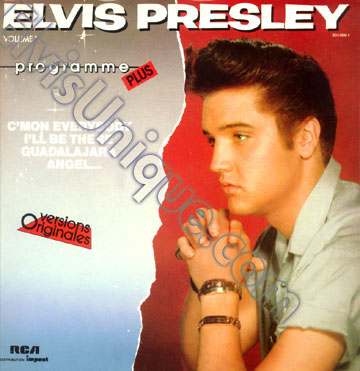 Elvis Presley Vol. 1 Programme Plus Image
