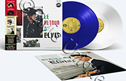 Le Retour D' Elvis/His Hand In Mine Limited Numbered Double Album Image