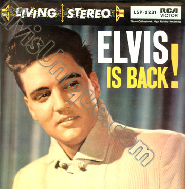 Elvis Is Back Image