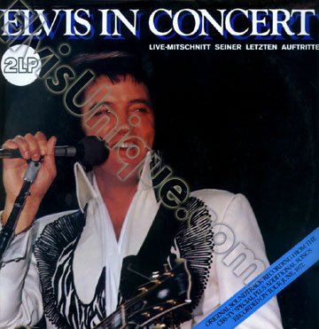 Elvis In Concert Image