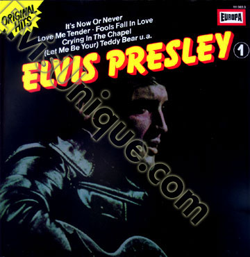 Elvis Presley Original Hits 1 Image