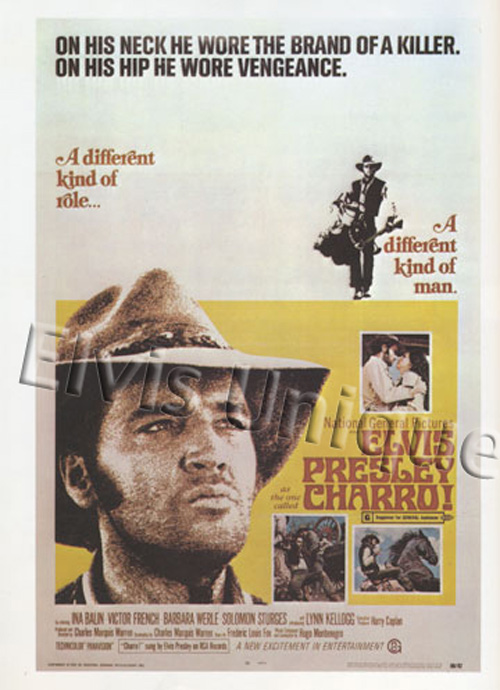 Charro Original One-Sheet Movie Poster Image