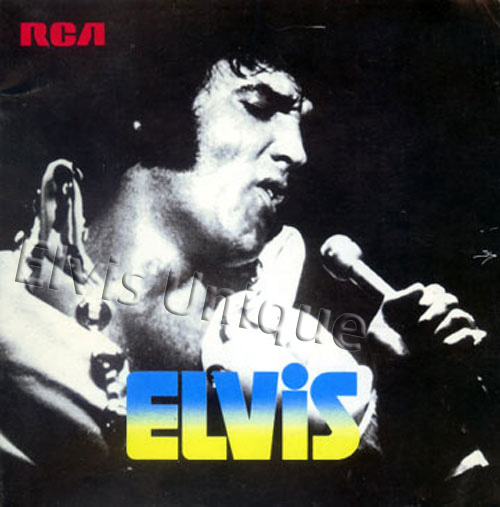 1970 Elvis Japan RCA Record Book Image