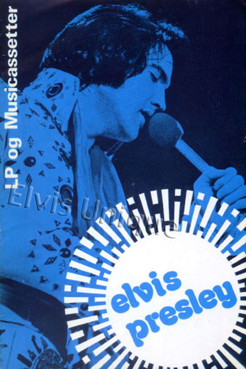 1972 Elvis LP & Music Cassette Dutch Catalog Image