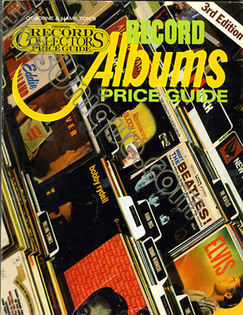 Record Albums 3rd Edition Price Guide Book Image